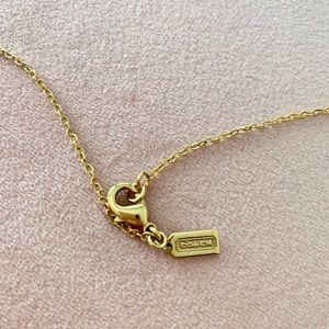 Coach Jewelry - Authentic Coach Necklace